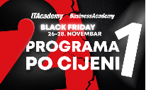 2 programa po cijeni 1: Velika Black Friday akcija na ITAcademy i BusinessAcademy
